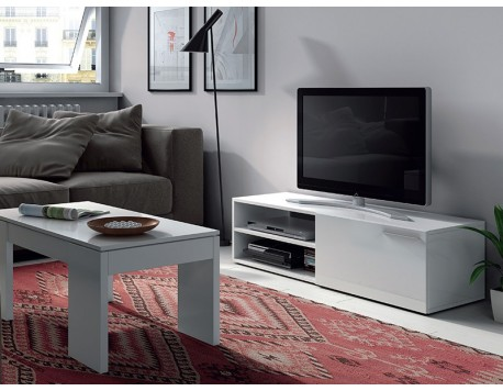 MOBLE TV MACAO BLANC
