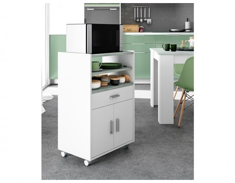 MOBLE MICROONES CHEFF BLANC-CIMENT