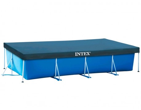 COBERTA PISCINA RECTANGULAR INTEX PRISMA FRAME