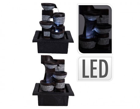 FUENTE LED DECORATIVA