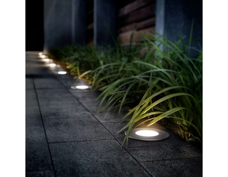 FOCUS EMPOTRABLE EXTERIOR LED PHILIPS MOSS INOX