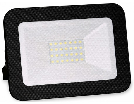 FOCO PROYECTOR EXTERIOR LED ULTRAFINO NEGRO