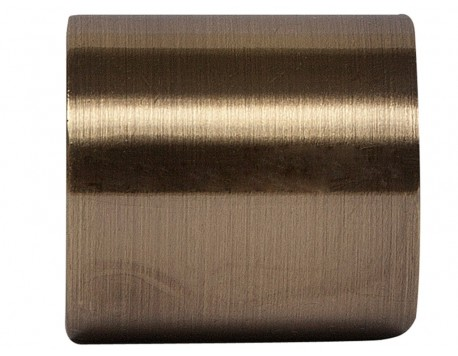 TERMINAL CORTINA TAPÓN BRONCE ECLECTIC 2UDS