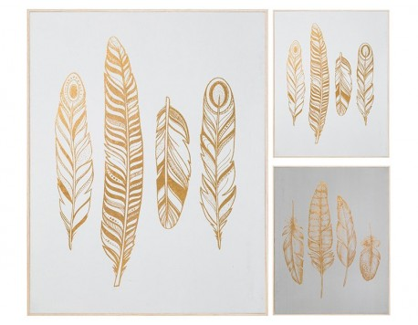 QUADRE MDF FEATHERS