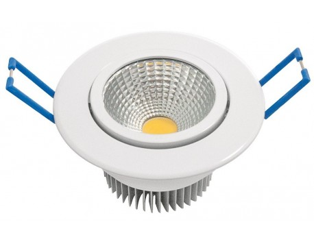 FOCUS EMPOTRABLE LED BLANC COB 60º