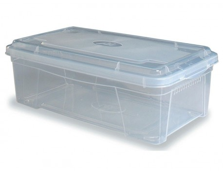 CAIXA DE PLÀSTIC SPACE BOX TRANSPARENT