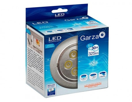 FOCUS EMPOTRABLE LED GARZA HIGHT POWER GRIS