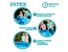 PISCINA INFLABLE RODONA EASY SET QUICK UP